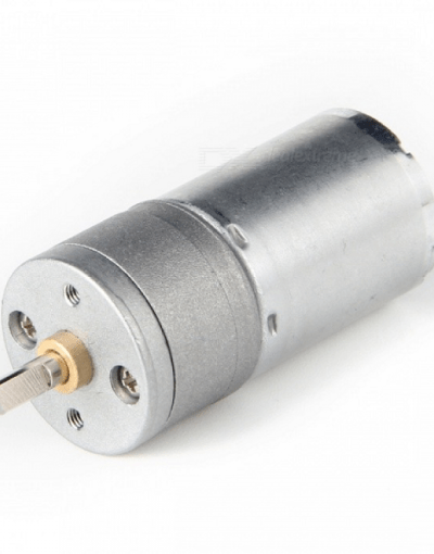 DC Motor With Gear Box 33RPM 12V 30Kg.cm