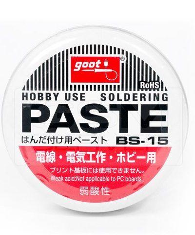 Soldering PASTE BS-15 (50gm) goot brand (JAPAN)