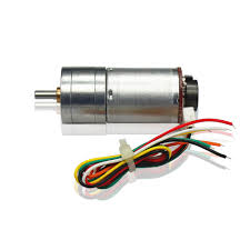 Dc Gear Motor With Magnetic Linear Encoder 25GA370 (7.8KG-280RPM-12V)