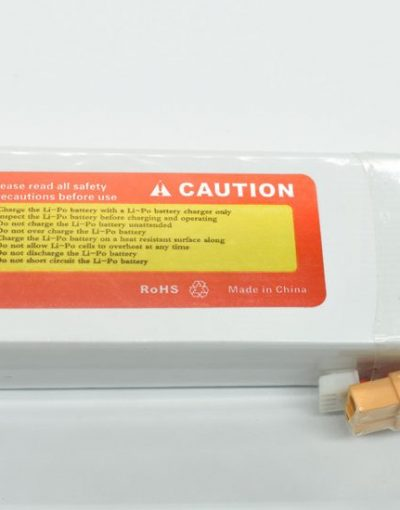 Lithium Polymer Battery (11.1 V, 5200 mAH , 40C)