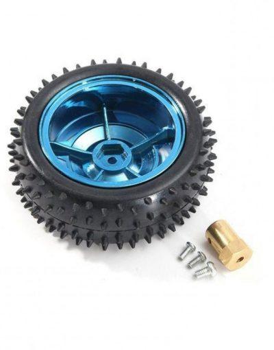 Robot Car Wheel 85mm + Metal Coupler 4mm