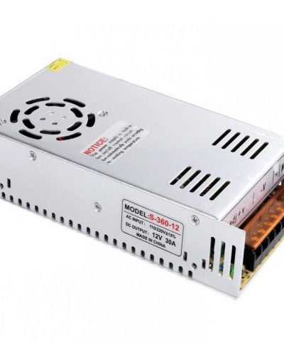 Power Supply SMPS S-360-12 (12V,30A) With Fan