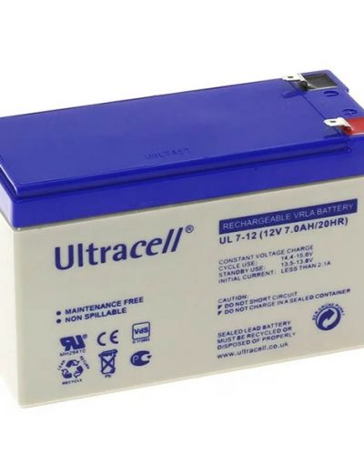 VRLA Sealed Battery - 12V 7Ah
