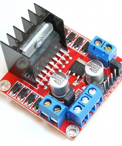 L298 Module Red Board (Dual H-bridge motor driver using L298N)