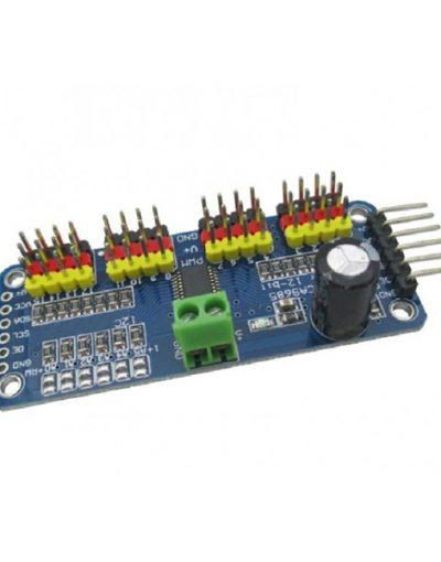 16 Channel 12-bit PWM Servo Motor Driver I2C Module for Arduino