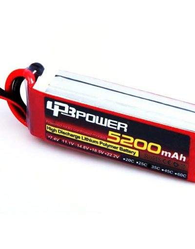 Lithium Polymer Battery (11.1 V, 5200 mAH- 35C)