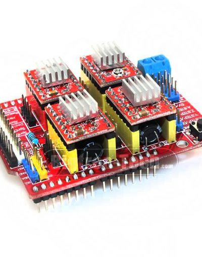 CNC Shield V3.0 With 4x A4988 Stepper Motor Drivers